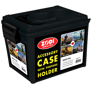 Durable Accessory Case by Zodi™ with propane holder | Zodi.com